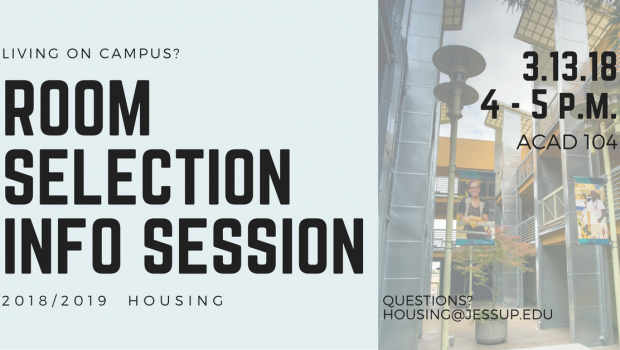 Room Selection Info Session