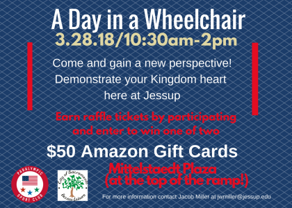 A Day in a Wheelchair-3/28 After Chapel