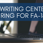 The Writing Center is Hiring Tutors!