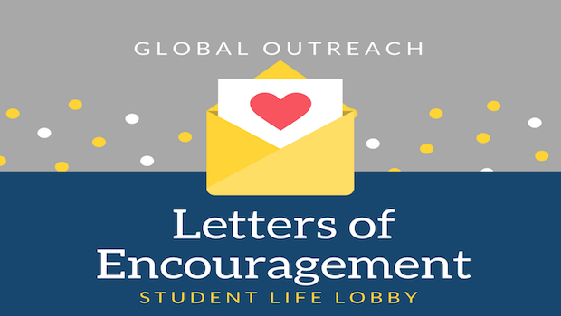 Write a Letter of Encouragement
