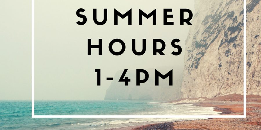 Mail Center Summer Hours