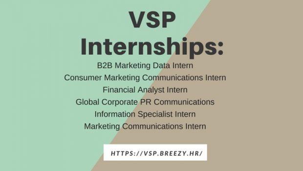 VSP Now Hiring Interns