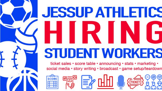 Jessup Athletics – Now Hiring Student Workers