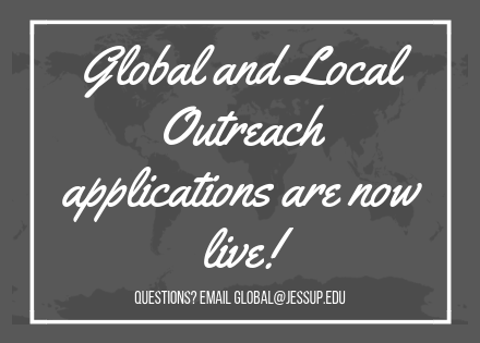 Global & Local Outreach Applications are now live!