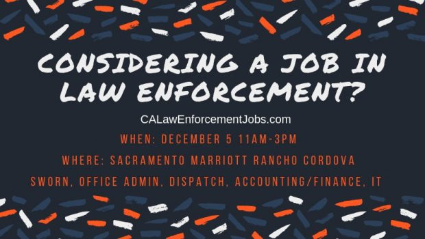 Law Enforcement Hiring Event – December 5