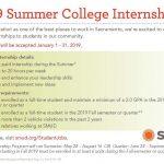 SMUD Summer Internships – Apply Jan. 1-31