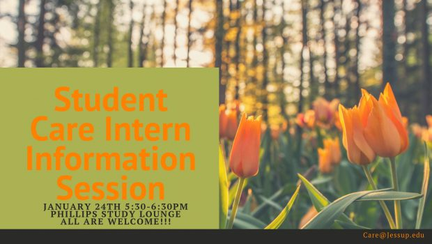 Student Care Intern Info Session