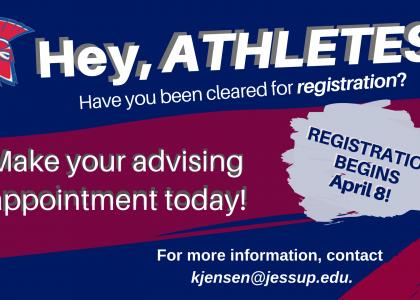 Athletic Advising Season
