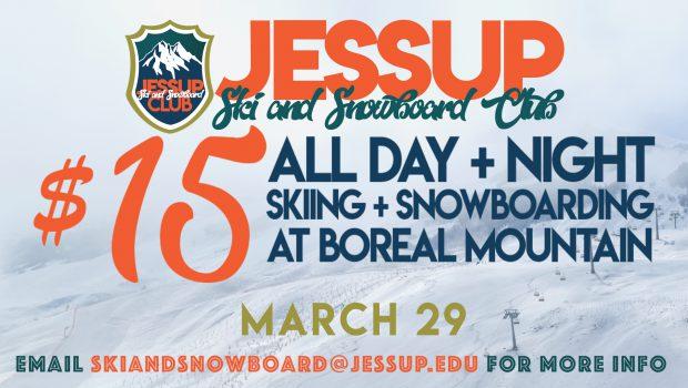WJU Ski and Snowboard Club Trip