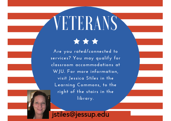 Veterans-Accommodations are Available!