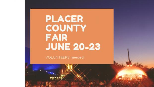 Placer County Fair seeking volunteers