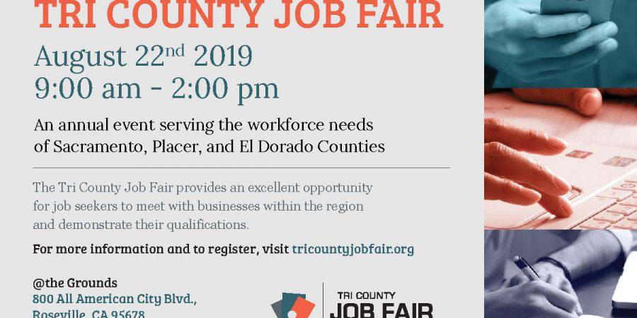 Tri-County Job Fair – August 22