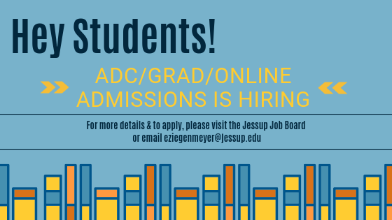 ADC/Grad/Online Admissions is Hiring!