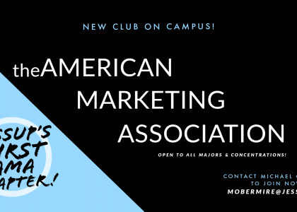 NEW CLUB ON CAMPUS! Join the American Marketing Association (open to ALL students!)
