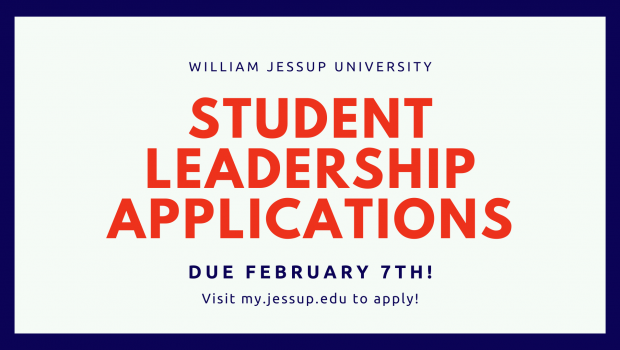 Student Leadership Applications NOW OPEN!