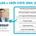 Calling & Career Events – Spring 2020