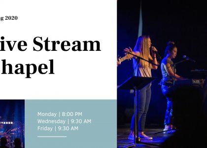 Live Stream Chapel
