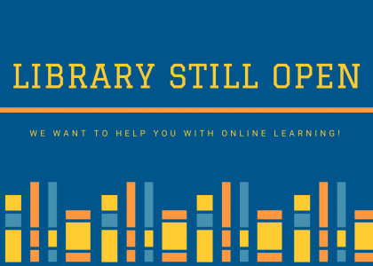 The Library is Open!