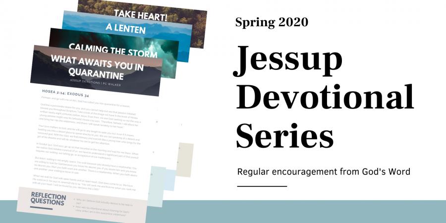 Jessup Devotionals