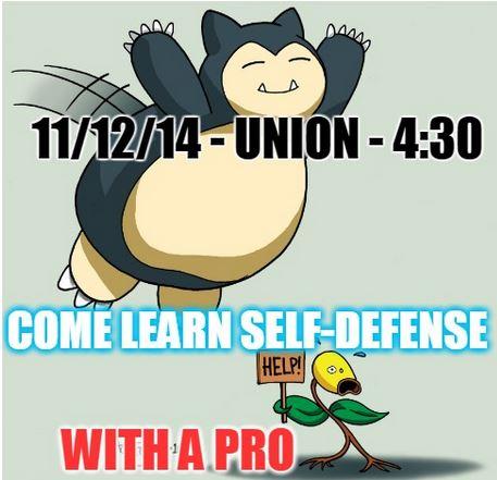 Jessup Self-Defense Class 11/12/14