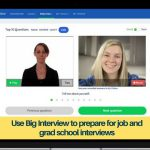 Use Big Interview to practice interviewing anywhere, anytime