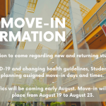 Fall Move-In Information
