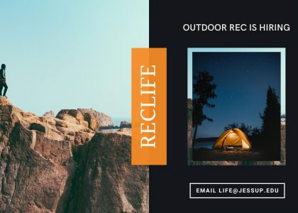 RecLife Is Hiring | Outdoor Rec Intern