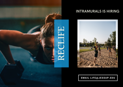 RecLife Is Hiring | Intramurals Intern