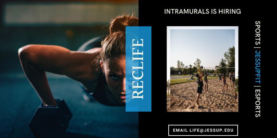 RecLife Is Hiring | Intramurals Intern
