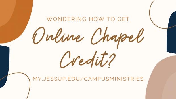 Online Chapel Credit Process