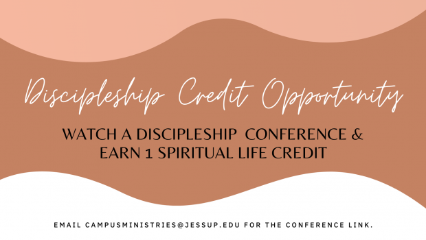 Discipleship Credit Opportunity