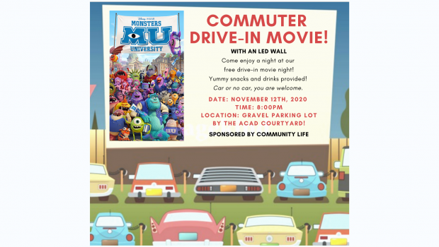 Commuter Drive In Movie