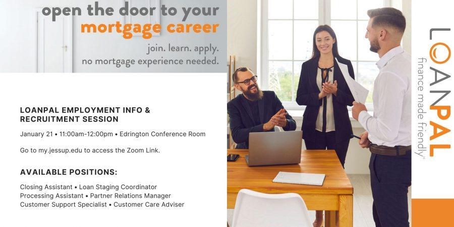 LoanPal Hiring Event – January 21 11am-noon
